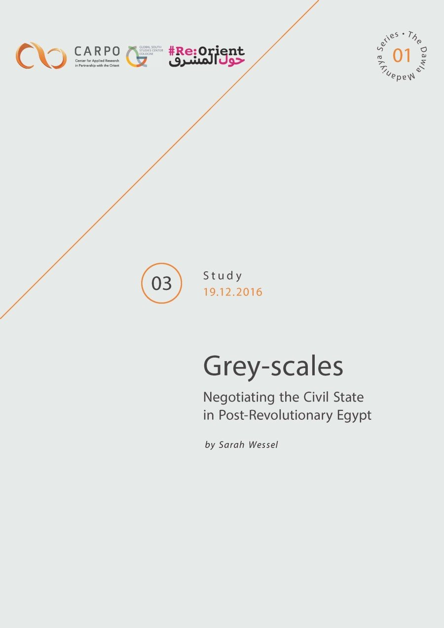 Grey-scales. Negotiating the Civil State in Post-Revolutionary Egypt