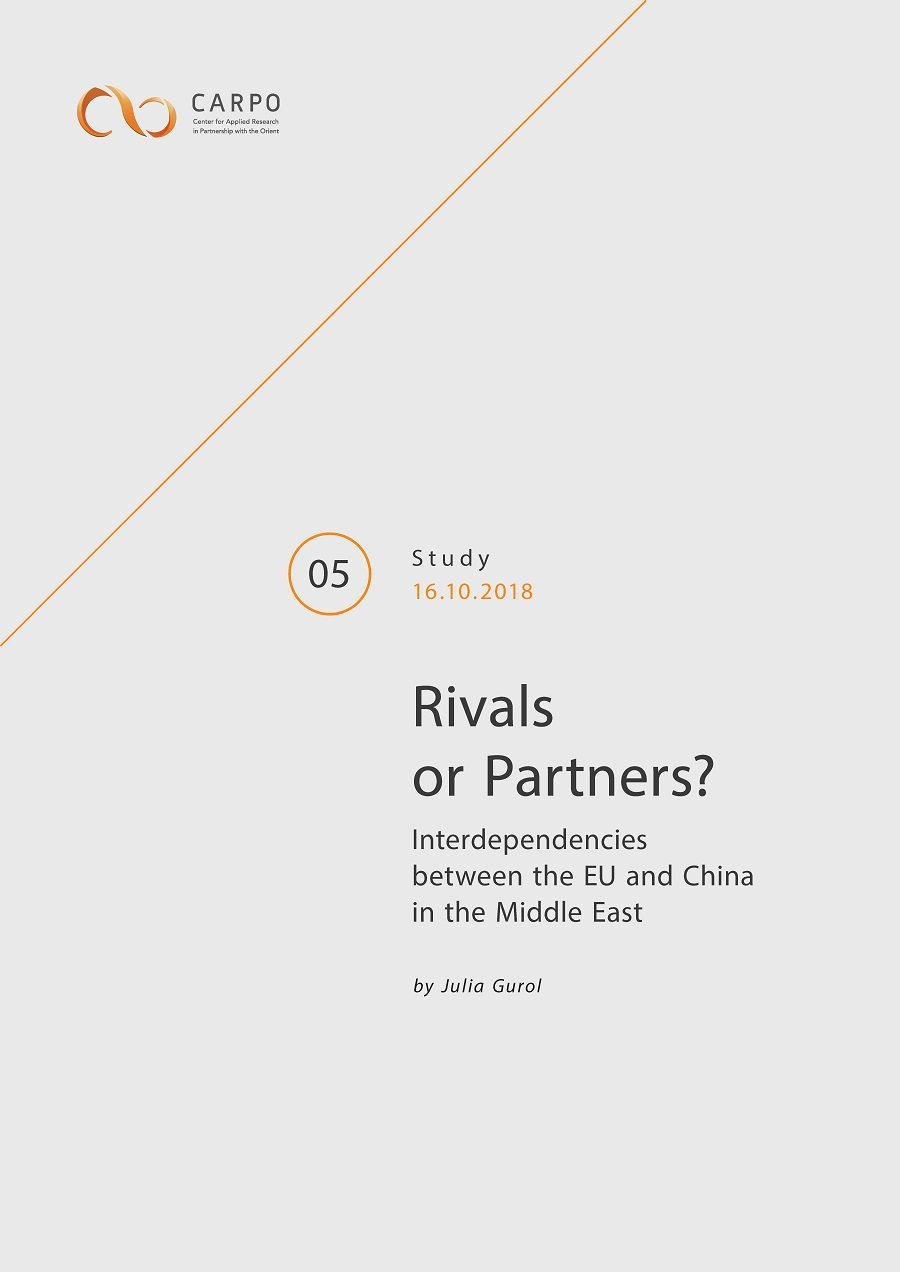 Rivals or Partners? Interdependencies between the EU and China in the Middle East