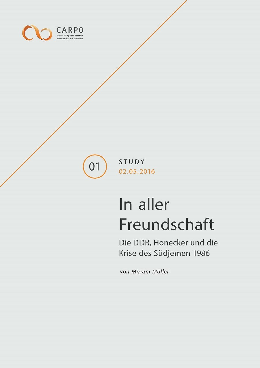 The GDR, Honecker and the South Yemen Crisis of 1986 [in German]