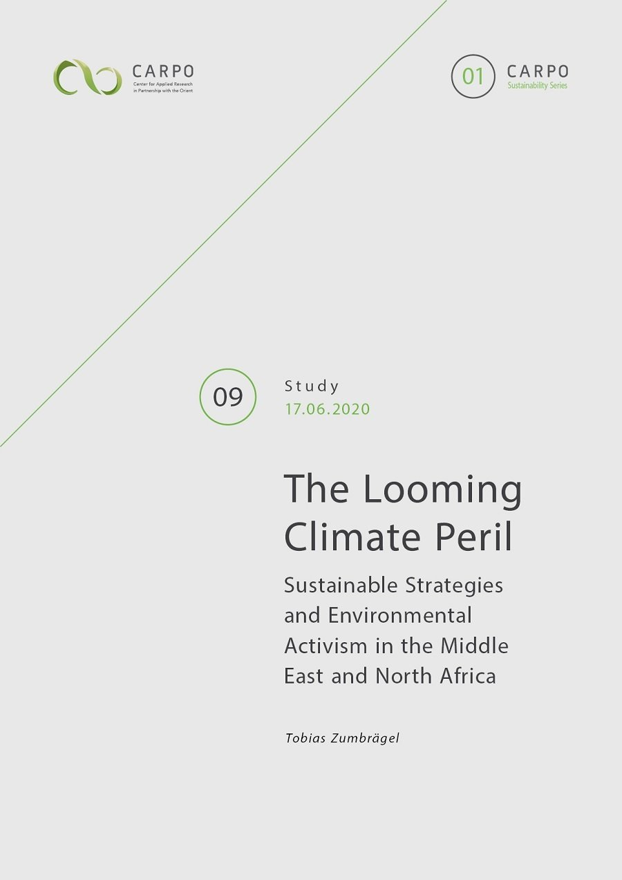 The Looming Climate Peril. Sustainable Strategies and Environmental Activism in the Middle East and North Africa