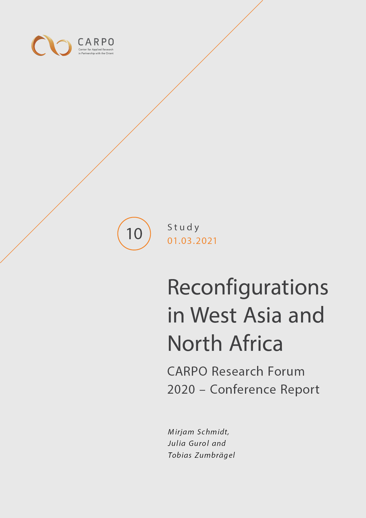 Reconfigurations in West Asia and North Africa. CARPO Research Forum 2020 – Conference Report